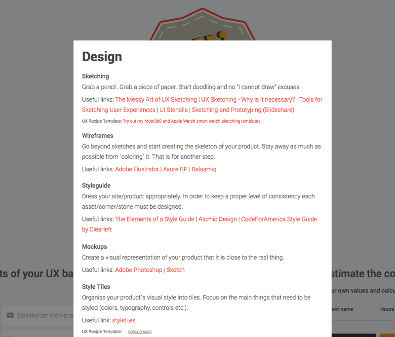 Lessons Learned From Building A Side Project InVision Blog - Ux roadmap template