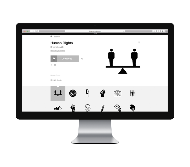 Human rights on Noun Project.