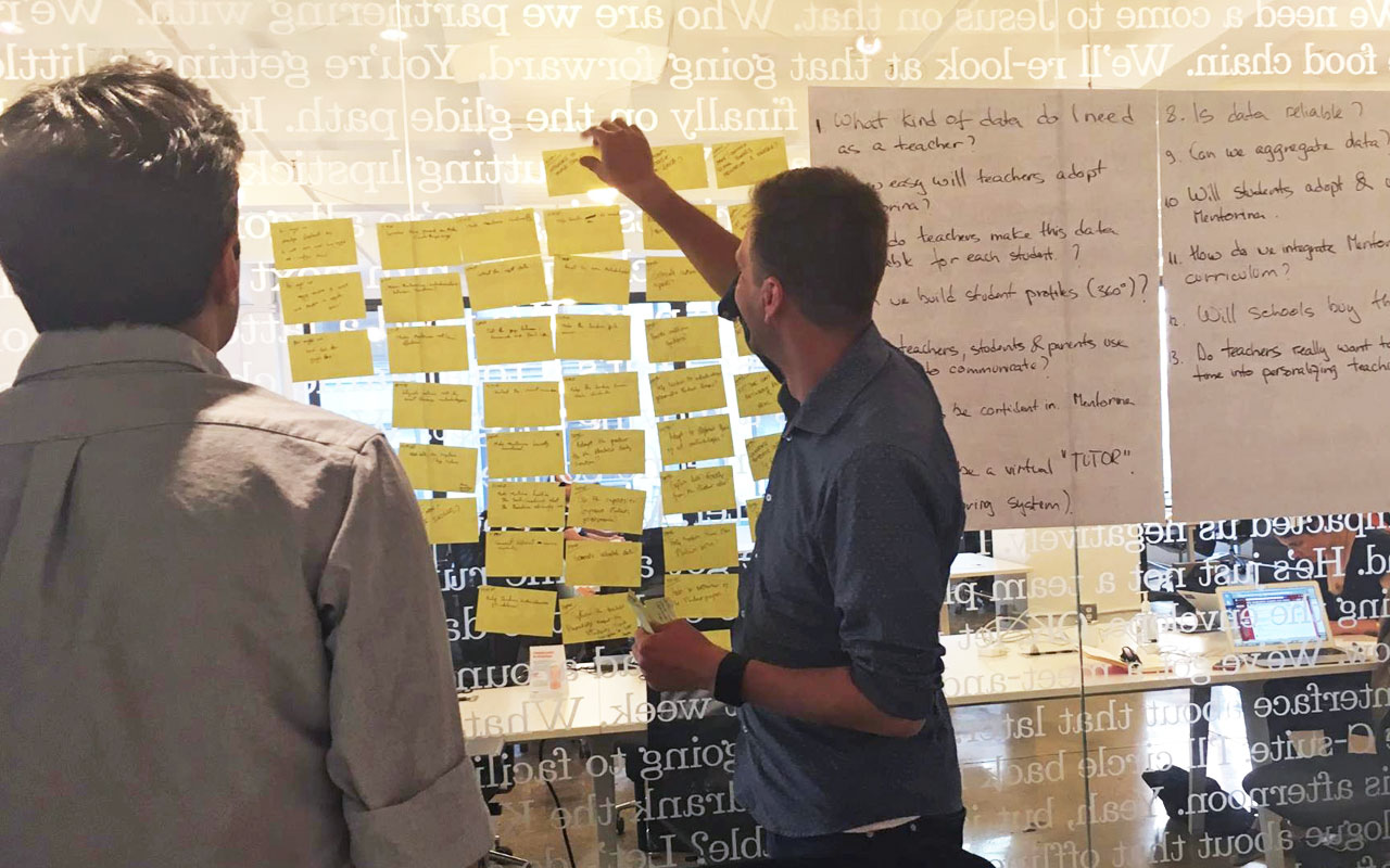 Lessons learned from running a design sprint with an ed-tech startup
