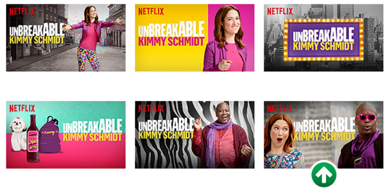 Image from the Netflix blog. The last marked images significantly outperformed all others.