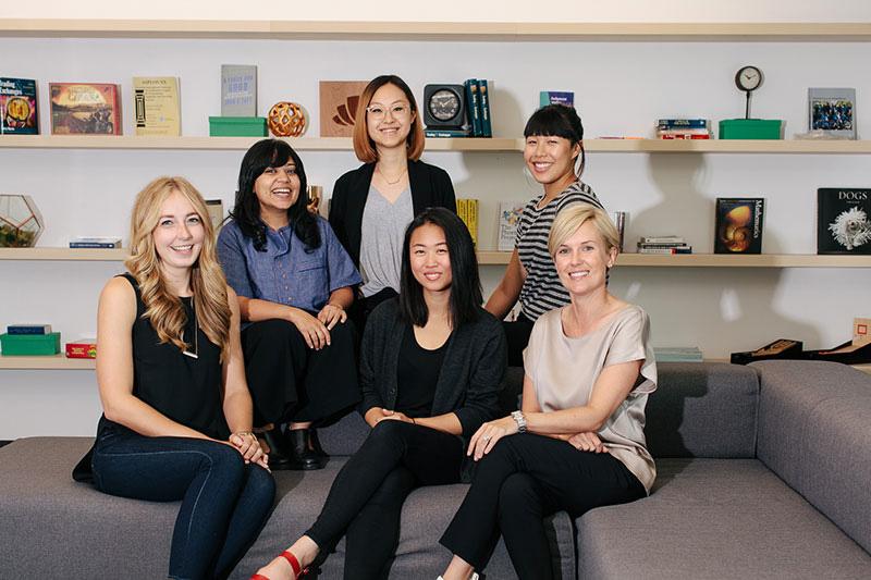 The design team at Wealthfront.