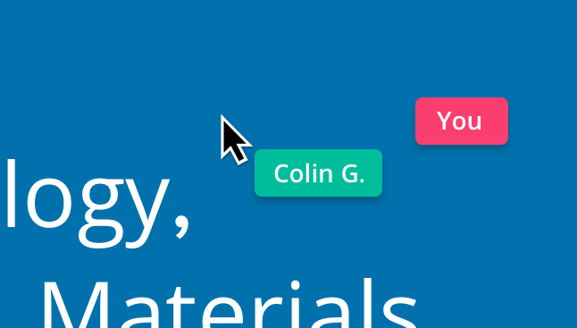 InVision LiveShare is super helpful when discussing prototype specifics.