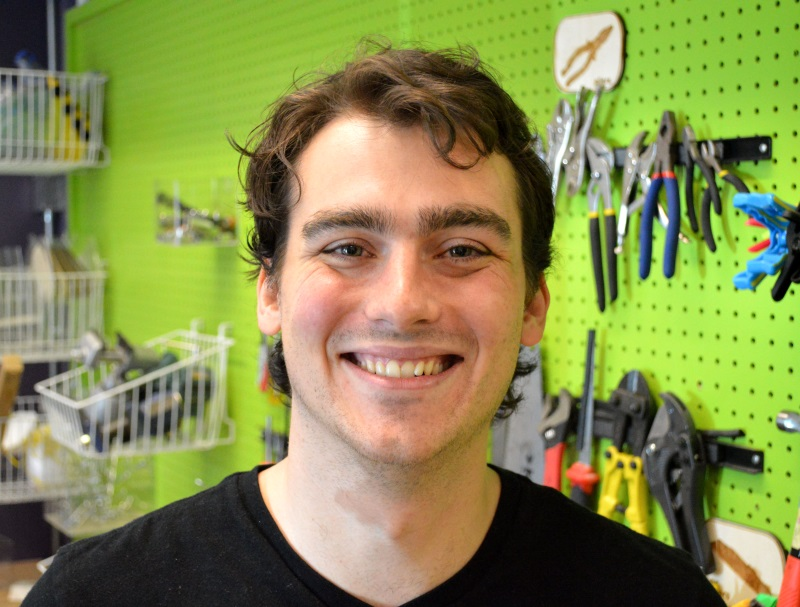 Brogan Miller used the DYL prototyping method to land a new job.