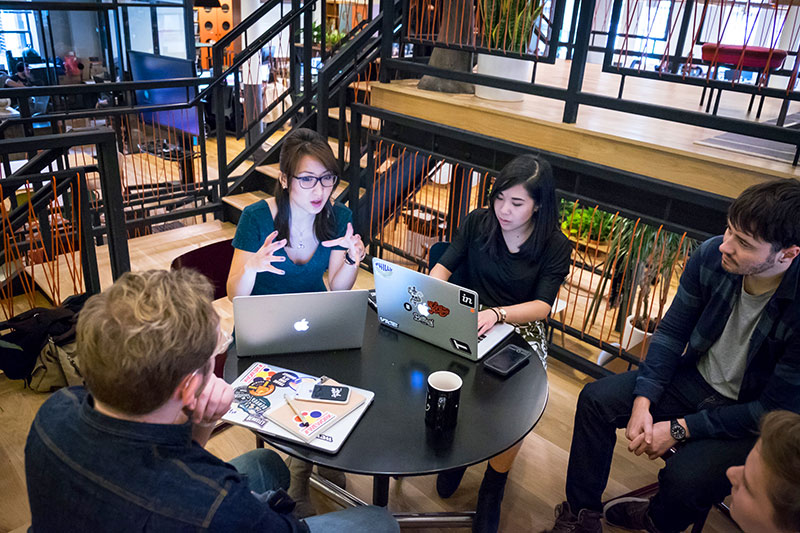 Image from Inside Design: WeWork