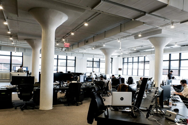 Squarespace's office in NYC.