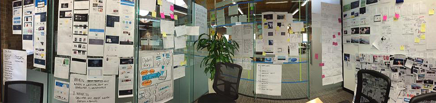 Design war room.
