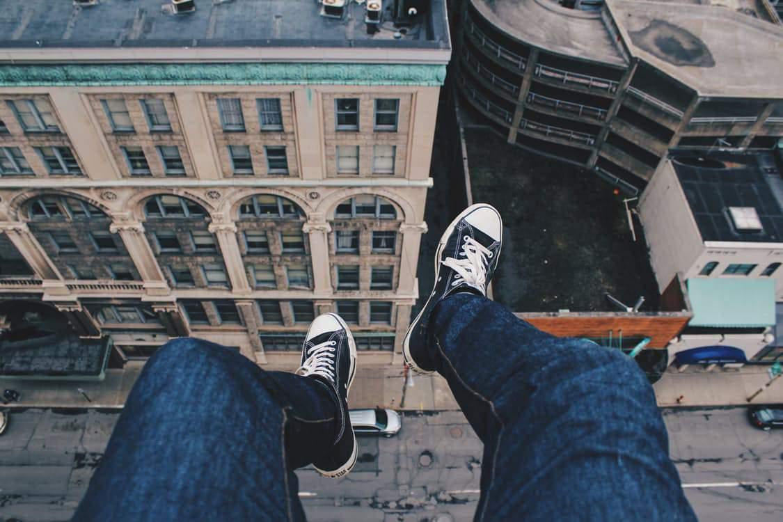 feet-roof