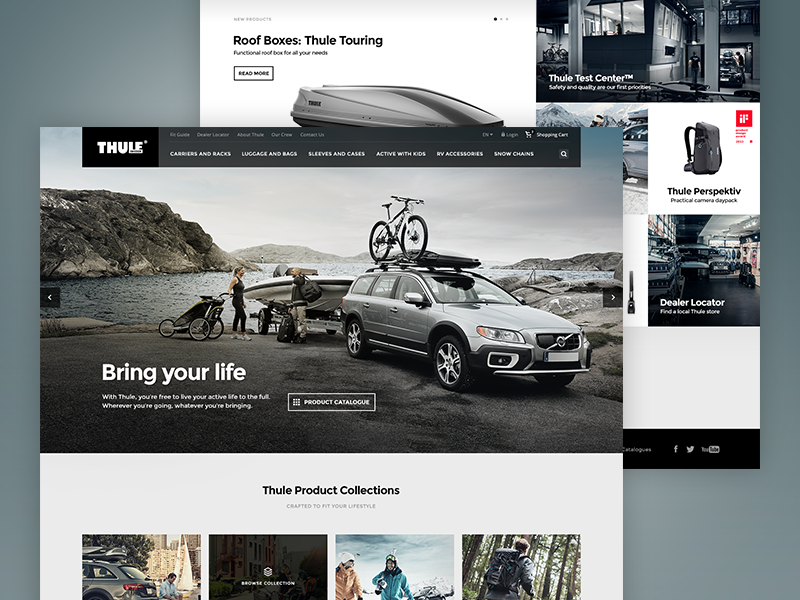 Thule Site Redesign