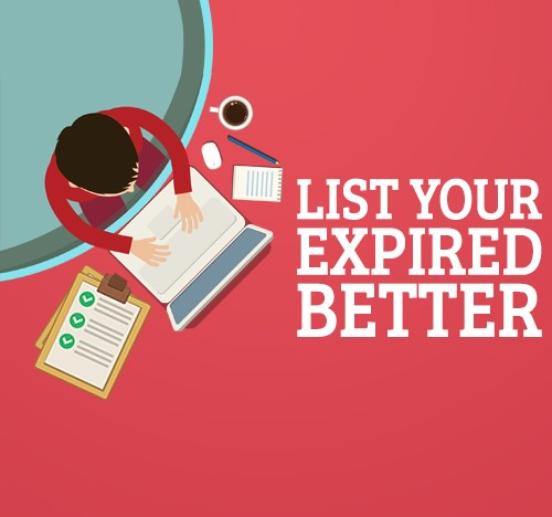 List Your Expired Better