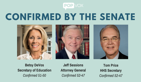 POPVOX Confirmed Nominees DeVos Price Sessions