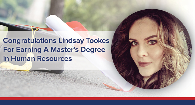 UGOC Spotlight Lindsay Tookes Earns Masters Degree in Human