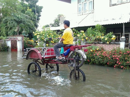 Flood bicycle
