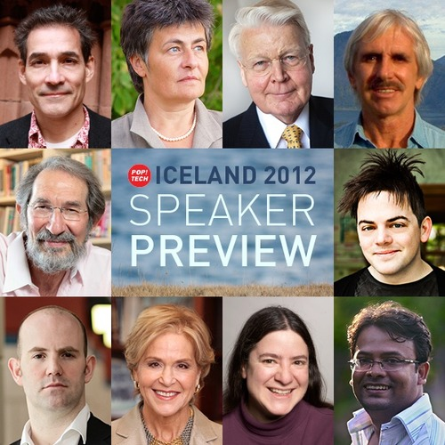 Toward Resilience: First round of speakers announced for PopTech Iceland!