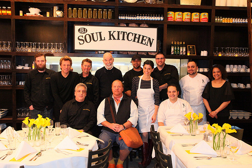 Staff of Soul Kitchen