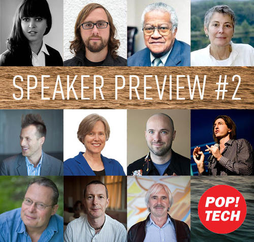 New speakers added to PopTech Camden lineup!