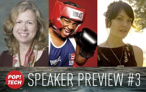 Additional speakers announced for PopTech Camden - including first ever female Olympic gold medalist for middleweight boxing!