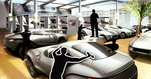 Rally Fighter Showroom
