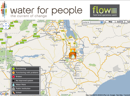 Water for People's FLOW screenshot