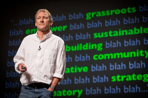 """""""This is PopTech.  We want to talk about impact..."""" Kevin Starr on how not to save the world"""