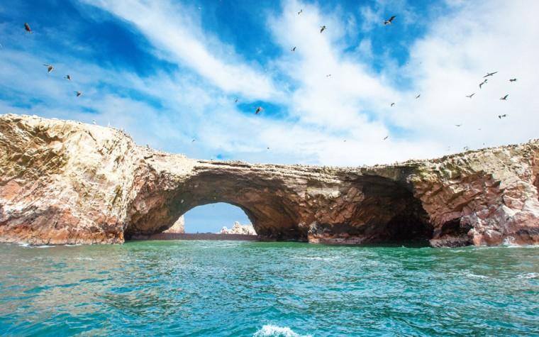 Se parte de la aventura por las playas escondidas de Paracas