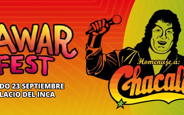 Homenaje a Papá Chacalón, El YawarFest y lo mejor de bandas peruanas