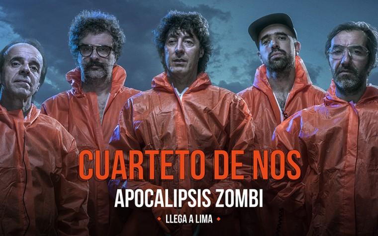 5 razones para no perderte Cuarteto de Nos en Lima