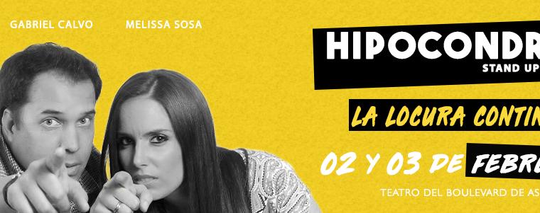 Hipocondría 2, Stand Up Comedy en el Centro Cultural Kontenedores
