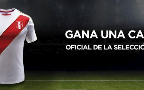 Condiciones legales del concurso: Gana una camiseta oficial de la selección peruana
