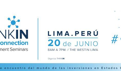 El punto de encuentro del mundo de las inversiones en USA llega a Lima