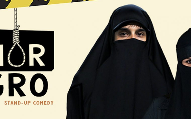 "Comedia crítica para reírse del statu quo. ""Humor Negro"""
