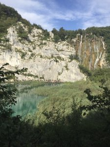 Plitvice Lake view