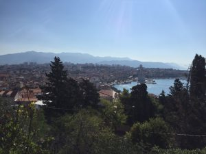 From Marjan park - Split