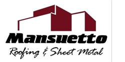 Mansuetto Roofing Logo
