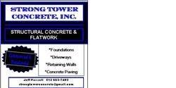 STRONG TOWER CONCRETE, INC.