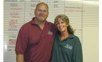Photo: Phil and Tammy  at the office.jpg
