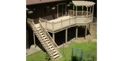 Photo: PRESURE TREATED  DECK OCTAGON PERGOLA.jpg
