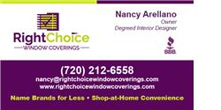 Right Choice Window Coverings