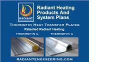Radiant Engineering Heating Products and System Plans