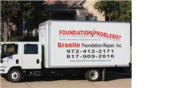 Granite Foundation Repair Truck