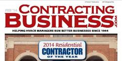 "Voted ""2014 Residential Contractor of the Year"" by Contracting Business"