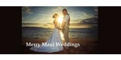 Photo: Merry Maui Wedding Logo.jpg