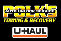 Polk's Auto Unlock Service Towing & Recovery, LLC