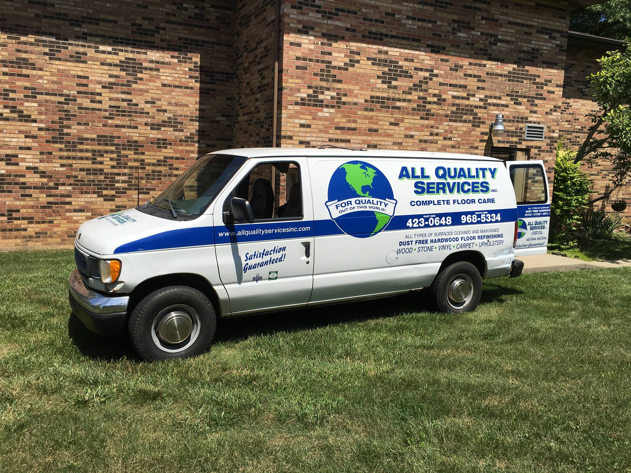 All Quality Services Van