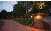 Photo: McDonough Landscaping, Landscape Pillar with Light.jpg