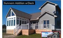 Photo: Sunroom w Deck.JPG