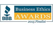 Ethics Awards Finalist 2015