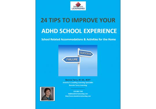 Photo: 24 tips to Improve Your ADHD School Experience.jpg