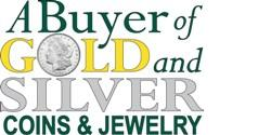 A Buyer of Gold and Silver Coins & Jewelry Logo