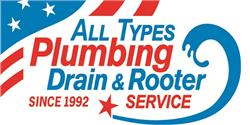 All Types Plumbing Drain & Rooter Service Logo