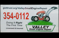 Valley Small Engine Repair
